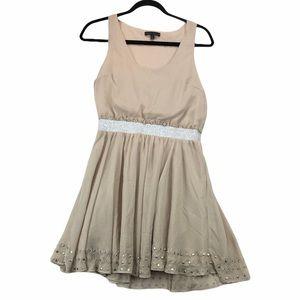 Luca Couture Baby Doll Mini Dress